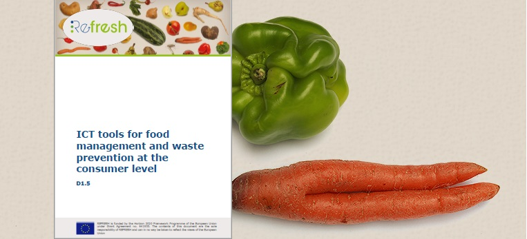 Ict Tools For Food Management And Waste Prevention At The Consumer